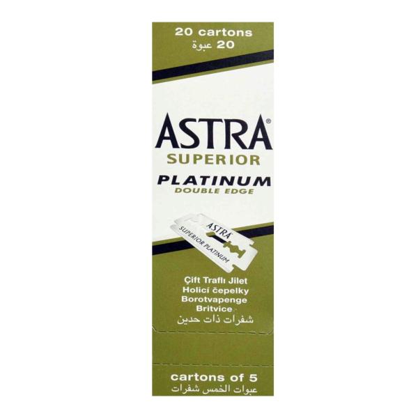 Astra Superior platinum double edge